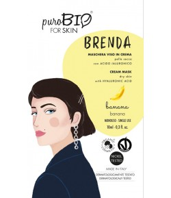 Brenda 02 - maseczka bananowa do cery suchej - PuroBIO 10ml