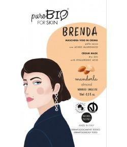 Brenda 01 - maseczka migdałowa do cery suchej - PuroBIO 10ml
