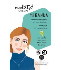 Miranda 06 - maseczka z zielonym winogronem do cery tłustej - PuroBIO 10ml