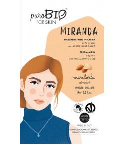 Miranda 04 - maseczka migdałowa do cery tłustej - PuroBIO 10ml