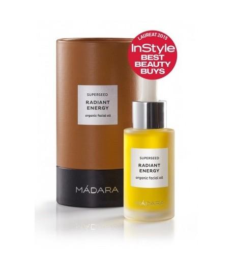 Superseed Organiczny olej do twarzy Wibrująca Energia - Madara 30 ml