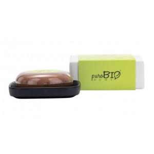 Mydło z mydelniczką Organic Joy - zapach miętowo - kokosowy - puroBIO HOME