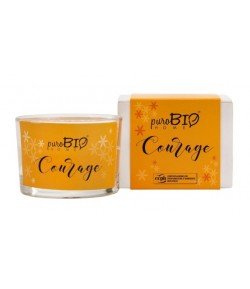 Świeca zapachowa Organic Courage - puroBIO HOME