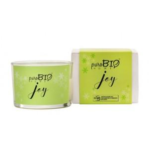 Świeca zapachowa Organic Joy - puroBIO HOME