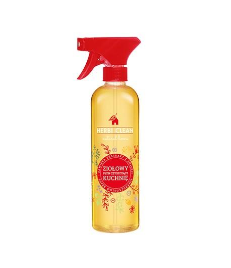 Ziołowy płyn do czyszczenia kuchni - Herbi Clean 500 ml