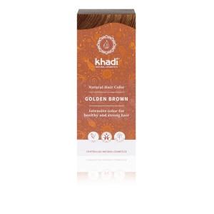 Naturalna Henna Złoty Brąz - Khadi 100 g