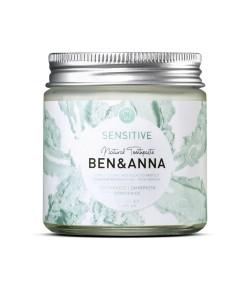 Naturalna pasta do wrażliwych zębów z rokitnikiem, rumiankiem i aloesem - BEN&ANNA 100 ml