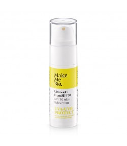 Ultralekki krem do twarzy SPF 30 - Make Me Bio 30 ml