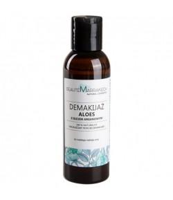Naturalny dwufazowy płyn do demakijażu Aloes z olejem arganowym - Beaute Marrakech 125 ml