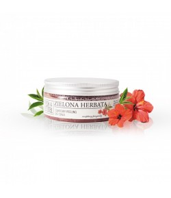 Cukrowy Peeling do ciała - Zielona Herbata - Fresh&Natural 250g
