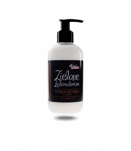 Myjąca odżywka do włosów - olej jojoba i len - Zielone Laboratorium 250 ml