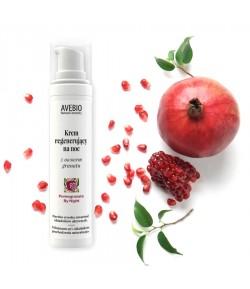 Krem regenerujący na noc z owocem granatu - Avebio 50 ml