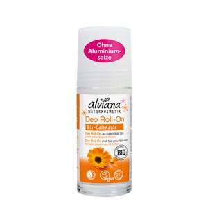 Dezodorant roll-on z bio-nagietkiem - Alviana 50 ml