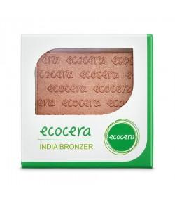 Bronzer prasowany India - Ecocera 10 g