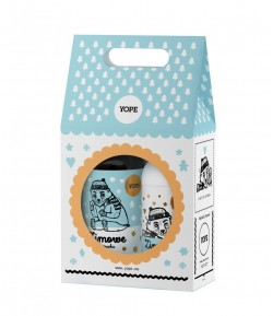 Zestaw mydło i balsam Zimowe Ciasteczka - Yope