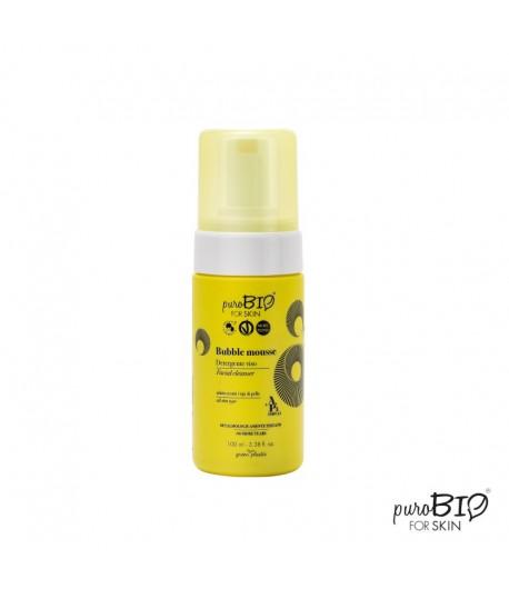 Bubble mousse - Pianka myjąca do twarzy - PuroBIO 100ml