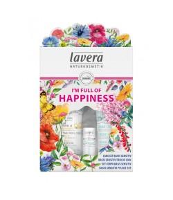 I'M FULL OF HAPPINESS Prezentowy zestaw pielęgnacyjny - Lavera 200ml+75ml+4,5g