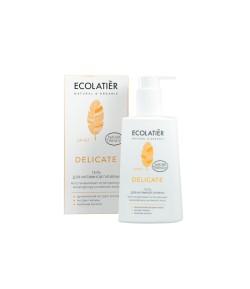 Żel do higieny intymnej Delicate - Ecolatier 250ml