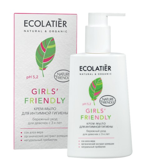 Żel do higieny intymnej Girls' Friendly - Ecolatier 250ml