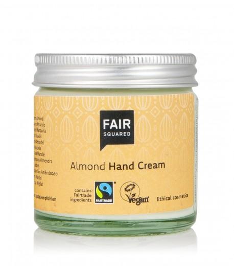 Krem do rąk z olejem z migdałów Zero Waste - Fair Squared 50 ml