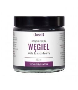Oczyszczająca pasta do mycia twarzy Węgiel - iossi 120 ml