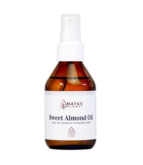 Olej ze słodkich migdałów - Natur Planet 100 ml