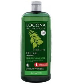 Pielęgnujący szampon z bio-pokrzywą - Logona 500 ml