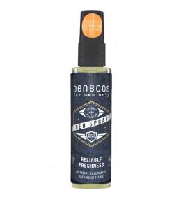 Odświeżający deo spray dla mężczyzn - For men only - Benecos 75 ml