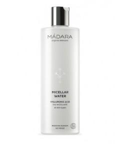 Organiczna woda micelarna z kwasem hialuronowym - Madara 400 ml