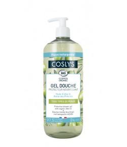 Żel pod prysznic z oliwą z oliwek - COSLYS 1l