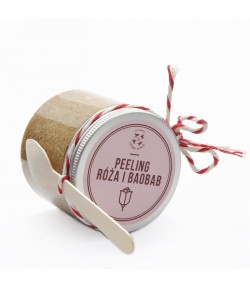 Peeling Róża i Baobab - Mydlarnia Cztery Szpaki 200 ml