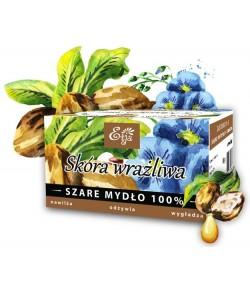 Mydło Potasowe - Naturalne z masłem shea - Etja 80 g