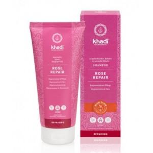 Róża - intensywnie odżywczy szampon Ajurwedyjski - Khadi 200 ml
