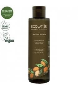 Balsam do włosów głęboko odżywiający z organicznym olejem arganowym - ECOLATIER 250 ml