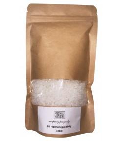 Refill Regenerująca sól do kąpieli z Lawendą i witamina B5 - Fresh&Natural 500 g