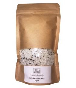 Refill Relaksująca sól do kąpieli z Lawendą i Zieloną herbata - Fresh&Natural 500g