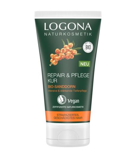 Maska do włosów regenerująca z bio-rokitnikiem - Logona 150 ml