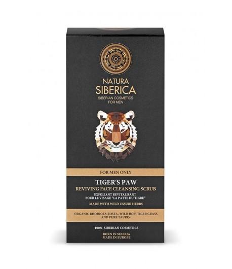 Ożywczo-oczyszczający scrub do twarzy - TYGRYSIA ŁAPA - Natura Siberica Men 150 ml