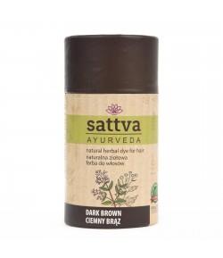 Henna - Ciemny brąz - Sattva 150 g
