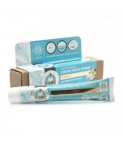 Organiczna pasta do zębów - solna - świeży oddech - Receptury Babci Agafii 75 ml