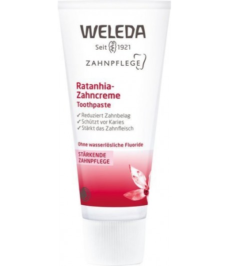 Pasta do zębów z wyciągiem z ratanii - WELEDA 75 ml