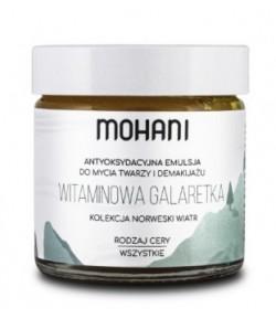 Witaminowa galaretka - emulsja do mycia twarzy i demakijażu - Mohani 60 ml
