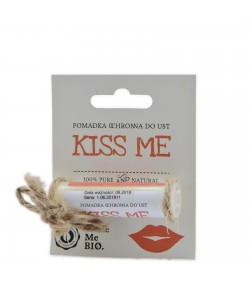 Kiss me/ Pomadka ochronna do ust - Make Me Bio 5 ml