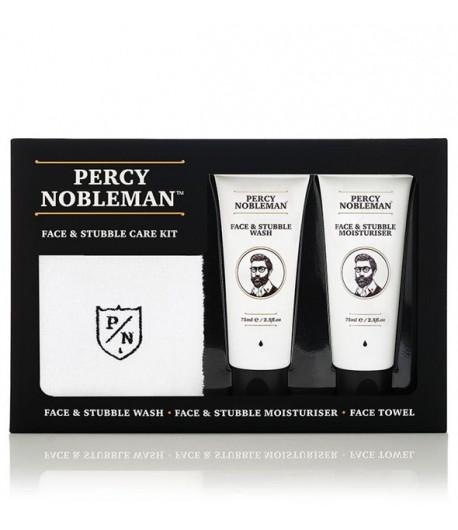 Zestaw Face & Stubble - Percy Nobleman