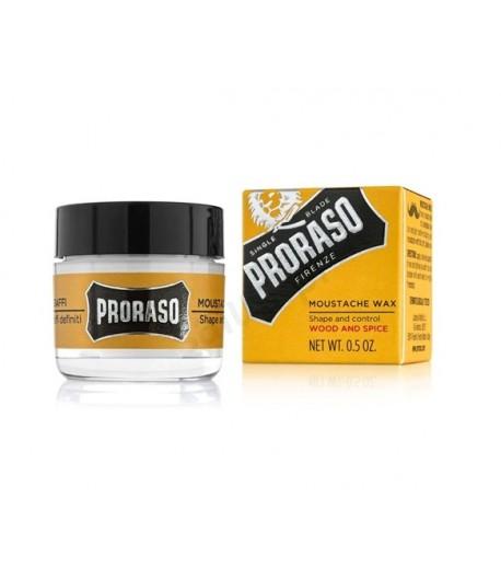 Wosk do brody i wąsów - Wood and Spice - Proraso 15 ml