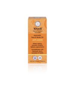 Anti-Aging - ajurwedyjski olejek przeciwzmarszczkowy - Khadi 10ml